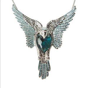 Swarovski Phoenix necklace.